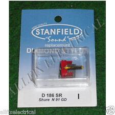 Shure N91GD Compatible Turntable Stylus. - Stanfield Part # D186SR