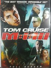 Mission Impossible 3 - M:I:III - Tom Cruise, DVD