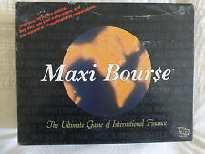 Maxi Bourse by TSR Edition COMPLETE Game on International Finance