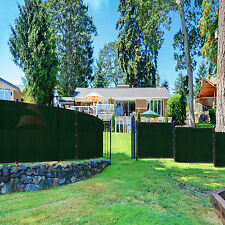 8'x50' Green Black Beige Brown Privacy Fence Windscreen Garden Fabric Mesh Cover