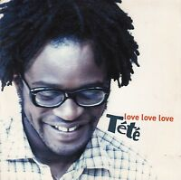 Tété CD Single Love Love Love - France - Promo (VG+/M)