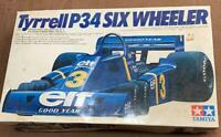 Tamiya 1/20 Tyrrell P34 Six Wheeler Old Car Model Kit From Japan