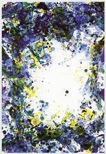 "Sam Francis ""Cut Throat"" vintage 1971 Gemini G.E.L."