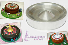 3D Novelty Cake Baking Tins and Pans | Roulette Wheel Cake Shape