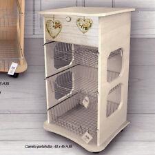 Carrello portafrutta acquisti online su ebay - Carrello portafrutta legno ...