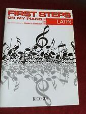 CONCINA FRANCO- First Steps On My Piano (Latin) RICORDI MLR 873