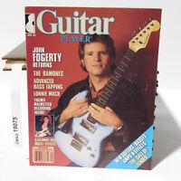 JOHN FOGERTY RETURNS GUITAR PLAYER MAGAZINE THE RAMONES April 1985 Lonnie Mack
