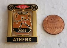 Dow Sponsor Olympic Pin ATHENS GREECE 2004 - Scarce! 2500 LE ONLY