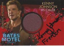 Bates Motel Season 2 - Autograph Costume Card CAKJ - Kenny Johnson as Caleb  # 6