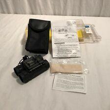 Vintage NOS Promaster 3936 8X21 Fully Coated Binoculars w/Case