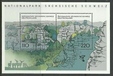 ALLEMAGNE 1998. Saxon Suisse National Parc Miniature Feuille SG: MS2860. MNH