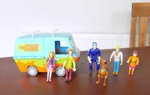 Vintage The Mystery Machine Van Including Figures Scooby Doo -  Hanna Barbera