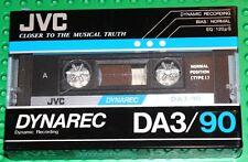 JVC  DYNAREC   DA 3  90           BLANK CASSETTE TAPE (1) (SEALED)