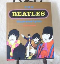 1990 THE BEATLES ILLUSTRATED LYRICS ( HARDCOVER) Black Dog & Leventhal