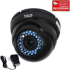 Dome Security Camera PIXIM WDR 690TVL Outdoor IR Night Vision CCTV Zoom Lens me6