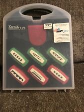 American Crafts Knock Outs Christmas 2013 Border Punch Set