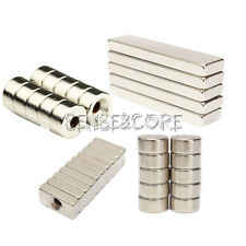 5/10PCS Magnet Strong Fridge Magnets Rare-Earth Neodymium Magnet N50 N52