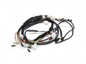 Original Sachs Wiring Harness, Cable Loom XTC 125 4Takt Chassis Number Note