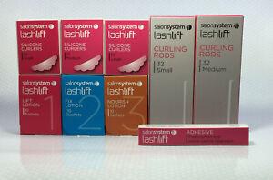 LASH LIFT SALON SYSTEMS NORISH LOTION, CURLERS AND ADHESIVES