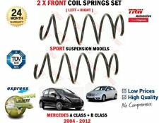 FOR MERCEDES A200 A160 A180 CDI B150 B170 B200 SPORT 2004-> 2X FRONT COIL SPRING
