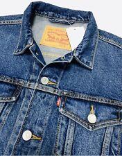 Levi's Men's Denim Size:S Trucker Jacket In Indigo Blue