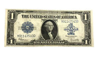 1923 $1 Silver Certificate Large Note HORSE BLANKET Cert One Dollar Nice