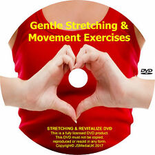 Over 50s Gentle Daily Exercise for Fitness & Well Being DVD Popular for Over 50s