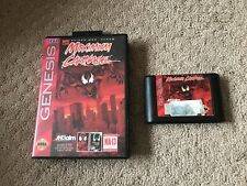 Maximum Carnage (Sega Genesis, 1994) Authentic Tested Works