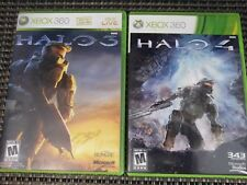Halo 3 & 4 (Xbox 360 Game Bundle Lot ) CIB Complete SHIPS TODAY
