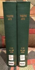 THEATRE ARTS Monthly - Volume XIV / 1930 - 2 Volume bound H/C  12 issues  NF