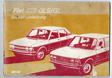 Betriebsanleitung FIAT 132 GLS /GL , 1974