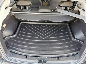 Cargo Trunk Mat Boot Liner Plastic Foam Raised Lip for Subaru XV 2018-21 G5X