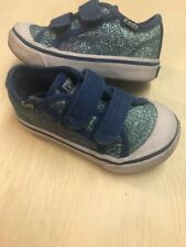 KEDS Glittery HL Blue Sneaker Shoes Toddler Girls' Size 5M