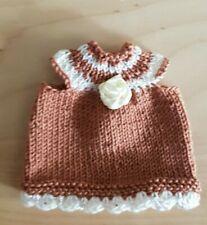 Knitting Dress, for Ca. 12-14 cm Bears Glamorous :o) - Handarbeit