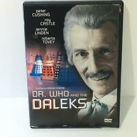 Dr. Who and the Daleks Peter Cushing Roy Castle Jennie Linden Roberta Tovey DVD