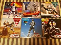 Space Sheriff Gavan 6 volumes LD set