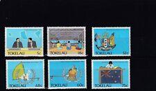 TOKELAU - SG159-164 MNH 1988 POLITICAL DEVELOPMENT