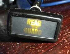 Land Rover Series 2a 3 Lightweight Dash Panel Rear Guard Warning Light PRC1492