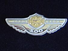 MAKE OFFER,,,,,,,,,, RAREST HARLEY DAVIDSON 100TH ANNI SILVER / GOLD PHASE 1 PIN