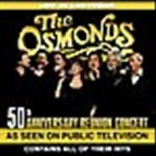 Osmonds Live In Las Vegas 50th Anniversary Reunion Concert CD PBS Edition NEW