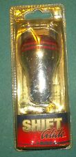 ALPENA RED OR BLUE SHIFT KNOB - Buyers Choice - Chrome & Red or Chrome & Blue