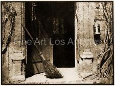 """Henry Fox Talbot Photo """"The Open Door"""" 1840s"""