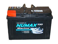 110amp Leisure battery. Narrowboat, cruiser, yacht, motorhome, caravan, camper.