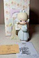 Precious Moments Sharing the Good News Together 1991 Figure w/ Box C0011