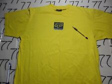 XL- Damaged / Fox Vintage Yellow T- Shirt