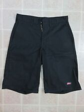 DICKIES Polyester Blend SHORTS Mens 30 Black Cell Pocket Industrial Work Wear