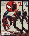 SPIDER-MAN/DEADPOOL #1,2,3,4,5,6 Marvel Comics EVERY VARIANT PRINTING! WOW! Vs &