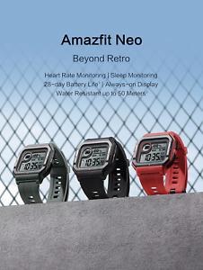 2020 Amazfit NEO smartwatch 28 days battery life