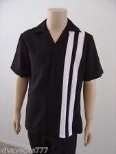 Elvis BLACK Speedway Shirt (Tribute Artist Costume) $75 Value (B4 Jumpsuit Era)
