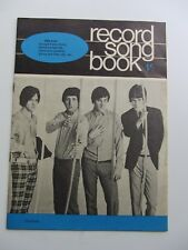 THE KINKS record Song Book 1966 THE KINKS cover Star